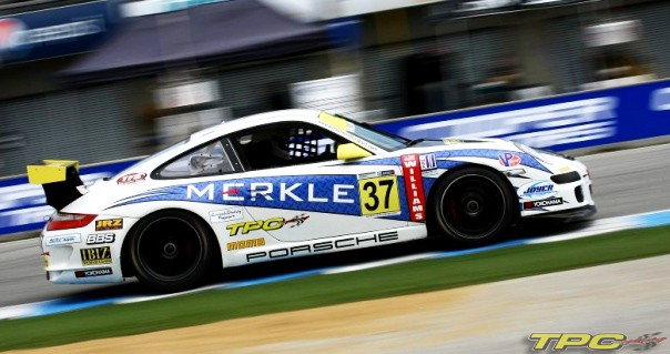 TPC-racing-podium-winner-sebring-imsa-porsche-motorsport-gt3-cup-car