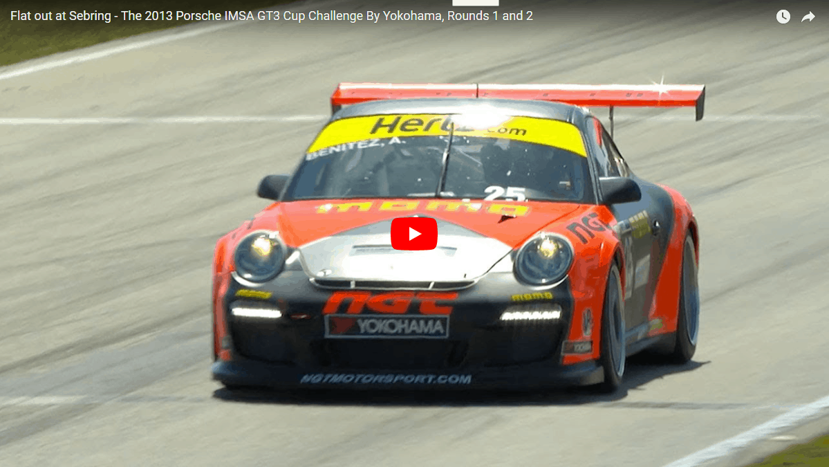 Porsche GT3 Cup Car in IMSA Porsche GT3 Cup Challenge at Sebring International Raceway (thumbnail)