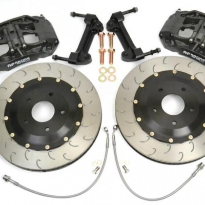 Essex Designed AP Racing Radi-CAL Competition Brake Kit (Front 9661/394mm)- Porsche 981 GT4