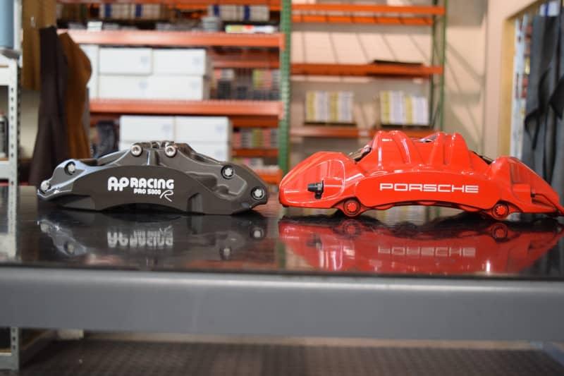 Essex Designed AP Racing Radi-CAL Competition Brake Kit (Front 9661/372mm)-  Porsche 997, 981, 718