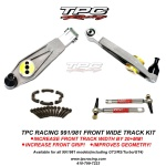 TPC front wide track kit